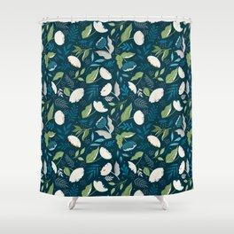 Flower Seeker Shower Curtain