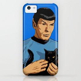 Spock's cat iPhone Case