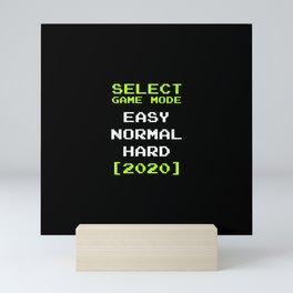 Select Game Mode 2020 Mini Art Print