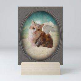 Little Angel Olive Mini Art Print