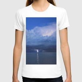 Lightning on the Myakka DPG160601b T-shirt