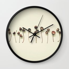 Acorn Collection Wall Clock