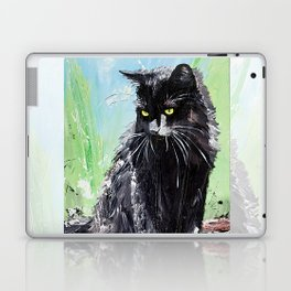 My little cat - kitty - animal - by LiliFlore Laptop & iPad Skin
