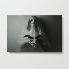 Mistress of death Metal Print