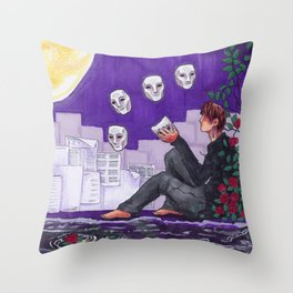 Part 2: The Realms of Day and Night Throw Pillow