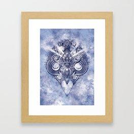 Meditation III Framed Art Print