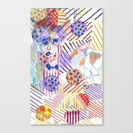 Buried  Canvas Print