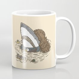 The Mullet Shark Coffee Mug