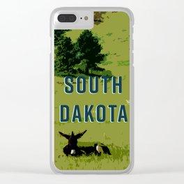 Where the Donkeys Sleep Clear iPhone Case