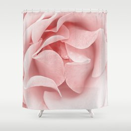 Pink Flora Rose Bud  Roses And Flowers Shower Curtain