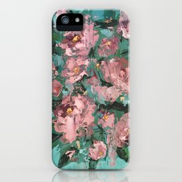 Roses - Botanical Series by Meredith Marsone iPhone Case