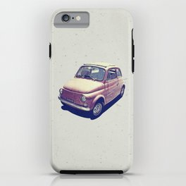 Fiat 500 - Italia Car iPhone Case