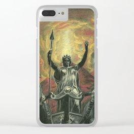 Boudica & Vesuvius Clear iPhone Case