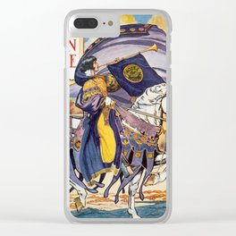 Vintage Women's Suffrage Poster, 1913 Clear iPhone Case