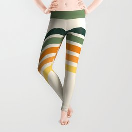 Retro Citrus Leggings