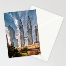Twin Towers KL Stationery Cards