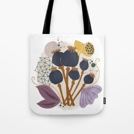 Fall Floral Bouquet Tote Bag