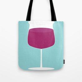 Showtasting - Wine Glass - Big Joe Tote Bag