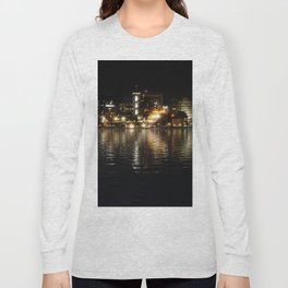 Night on the Bay - Erie, PA Long Sleeve T-shirt