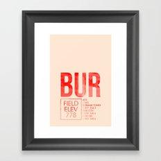 BUR Framed Art Print