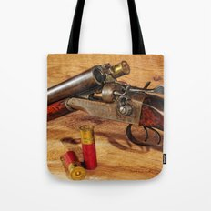 Old Double Barrel Stevens Tote Bag
