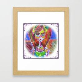Whispers in the Wood Framed Art Print