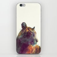 karen iPhone & iPod Skins featuring Tiger // Solace by Amy Hamilton
