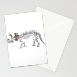 Tri-rosie-tops Stationery Cards