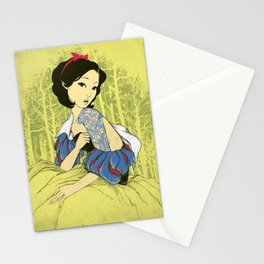 Her Hidden Tattoos Stationery Cards