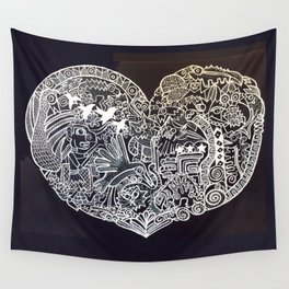 Ancient figures Wall Tapestry