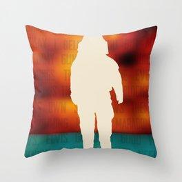 Brand New - Deja Entendu Throw Pillow