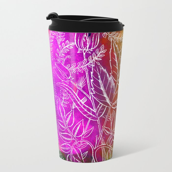 Into the artifice of eternity Metal Travel Mug