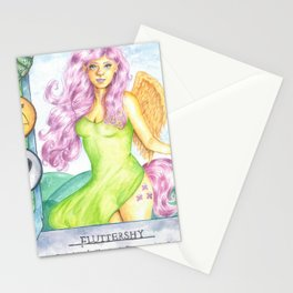 Fluttershy Gwent Card Stationery Cards