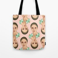 venus Tote Bags featuring VENUS by Laura O'Connor