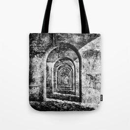 Monochrome Arches Tote Bag