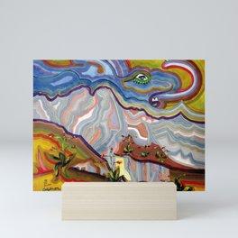 Earth Changes 1985 Mini Art Print