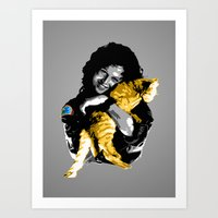ripley Art Prints featuring Officer Ripley by mirodeniro
