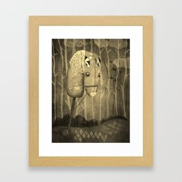 The Hobby Horse Framed Art Print