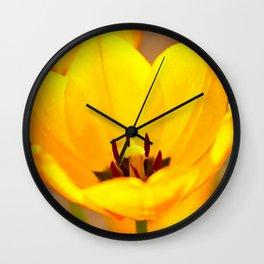 Golden Chalice Wall Clock