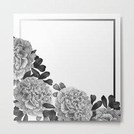 Flowers in the morning Metal Print