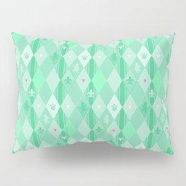 Green Lily Bear Pillow Sham