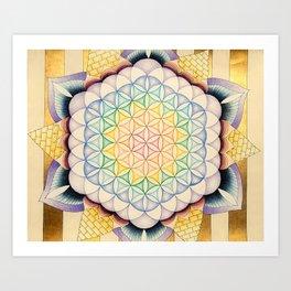 Flower of Change Art Print