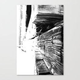 Cabin Texture Canvas Print