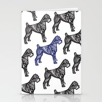 boxer Stationery Cards featuring Boxer by creative.court