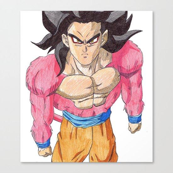 GOKU SSJ4 Canvas Print