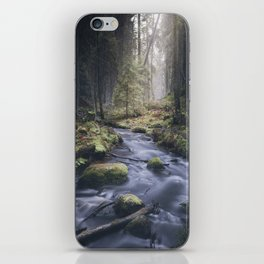 Silent whispers iPhone Skin