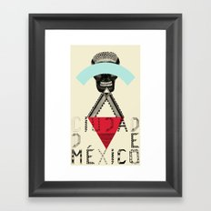 Locals Only - Ciudad de México Framed Art Print