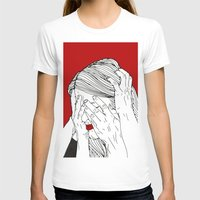 introvert T-shirts featuring Introvert 3 by Heidi Banford