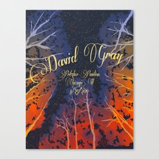 David Grey Poster Canvas Print