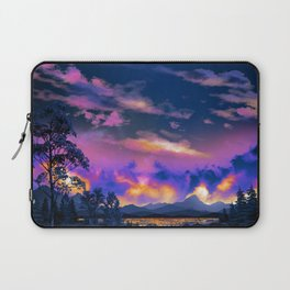 Night Sky Sunset Laptop Sleeve